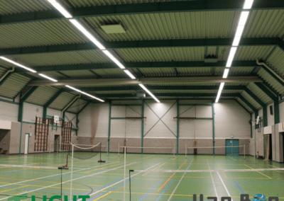 LED verlichting sportzalen